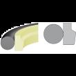 Stangendichtung PU 58D O-Ring NBR 70